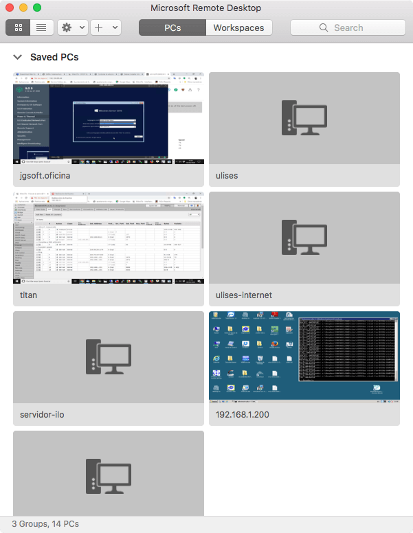 escritorio remoto para mac